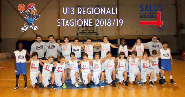 U13 Regionali 2018/2019