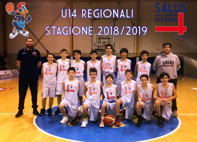 U14 Regionali 2018/2019